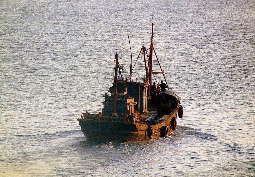 Congo Fishing Boat