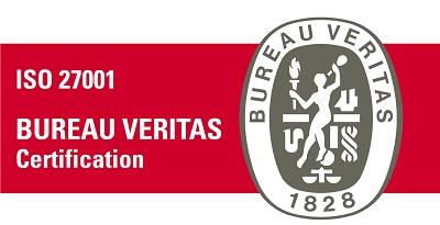ISO 27001 certification logo