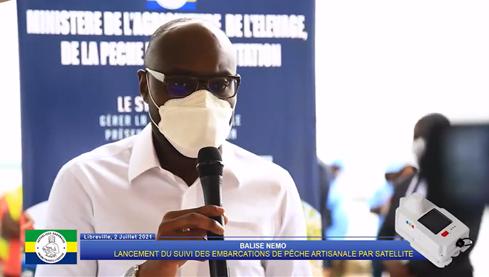Ministre de la Pêche gabonais